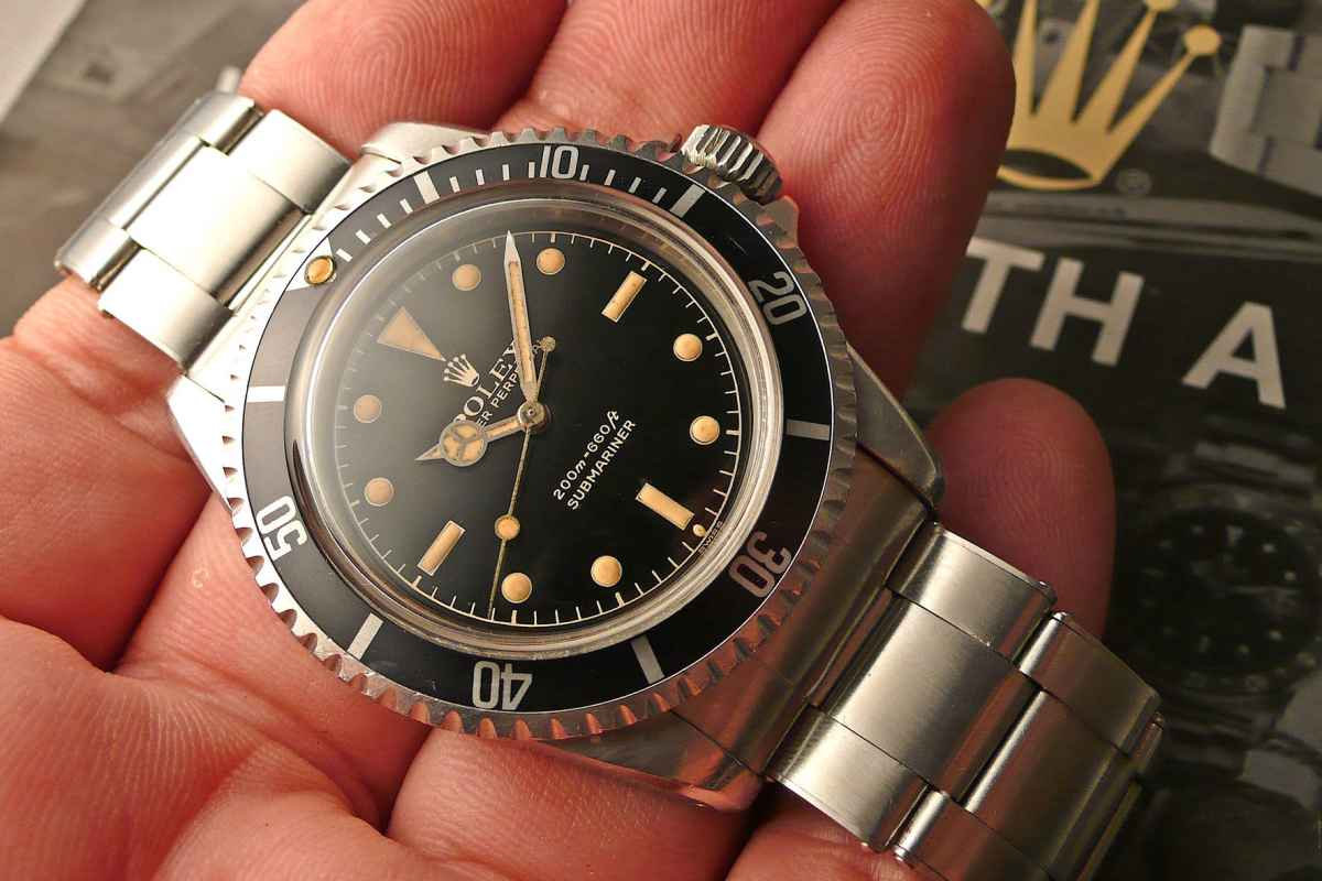 ROLEX SUBMARINER 5512: DUECENTO METRI IN FONDO ALL'ANIMA